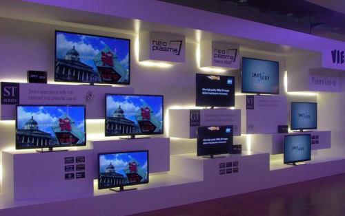 Panasonic - plazmy, přehled modelů 2012