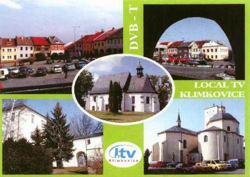 Klimkovice DVB-T pohlednice