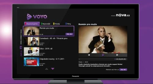 Voyo.cz - nová podoba 2011