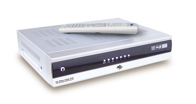 AB IP Box 250S přední panel