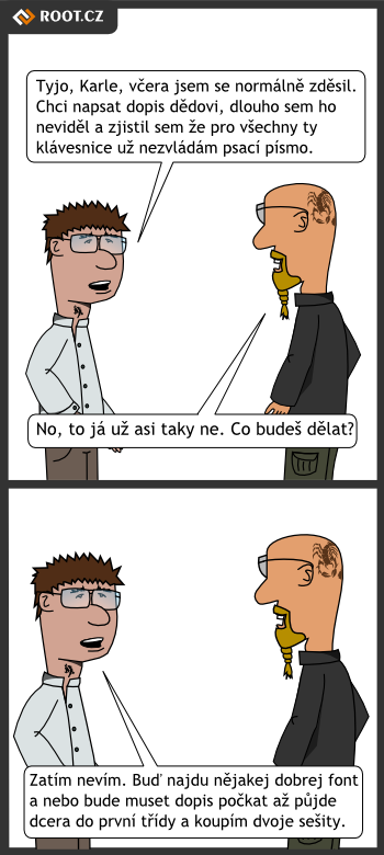 Psací komiks