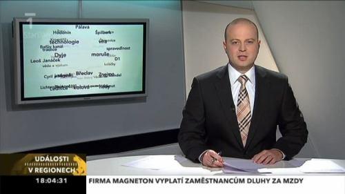ČT 1 - Jižní Morava