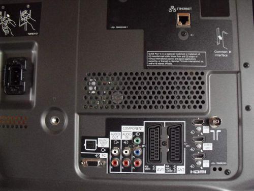 Panasonic TX-P42G20ES rozhraní