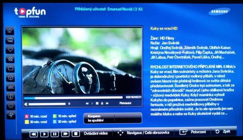 Topfun videopujčovna - Samsung