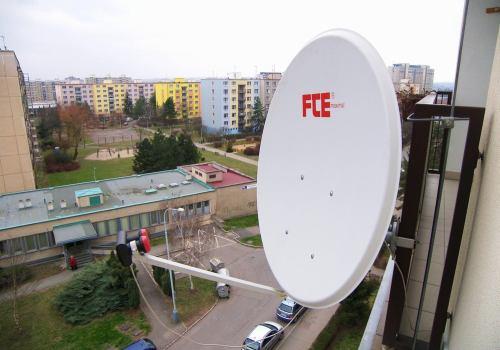 satelitní parabola