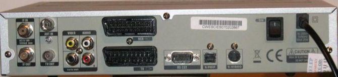 Koscom SDC 3550 VFD zadní