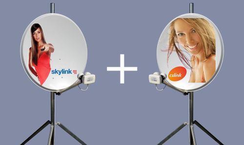 Skylink a CS Link - paraboly