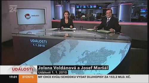 ČT 24 - grafika 2010