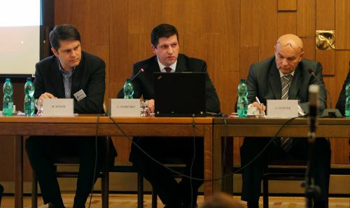 Marek Singer, Jan Andruško, Jiří Janeček - PSP ČR, 13.1.2011