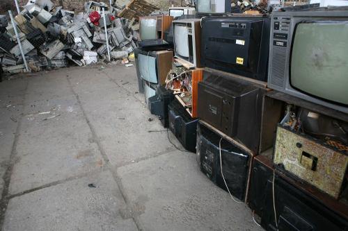 Recyklace starých televizí - 7