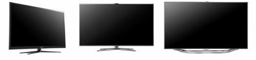 Samsung 2012 - srovnání designu televizorů