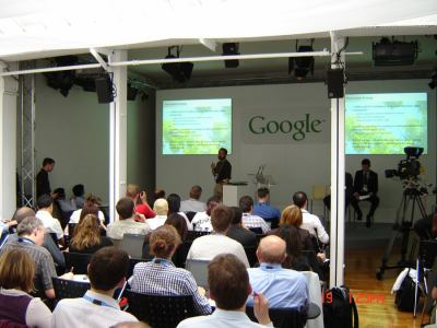 Google Press day 2007 - Urs Holzle