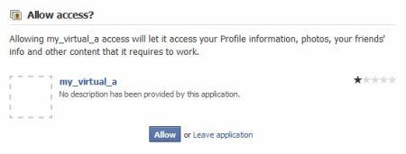 Facebook - spam 4