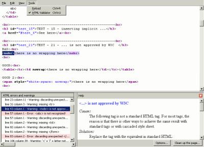 HTML Validator 2