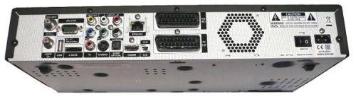 Vantage HD-7100 S zadní panel celek