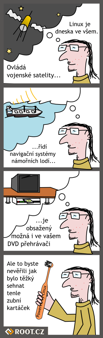 Linux je vsude
