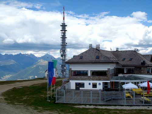 Kronplatz - vysílač 500