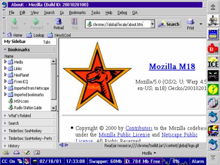 OS/2 mozilla