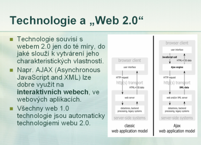 Technologie a web 2.0