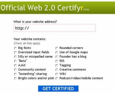 Web 2.0 nevážně