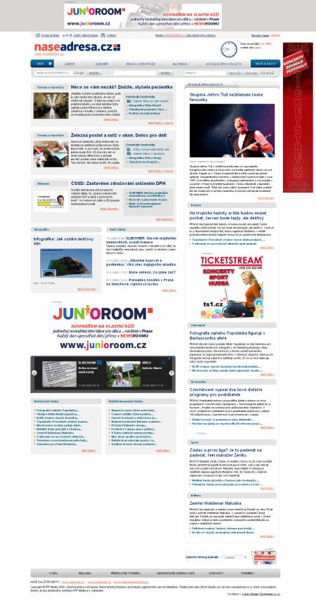 Naše adresa homepage - HP