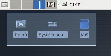 Xfce 4.6 - ikony na ploše