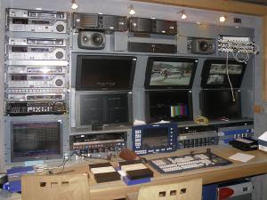 Přenosový HD vůz - ČT - záznamové pracoviště 2