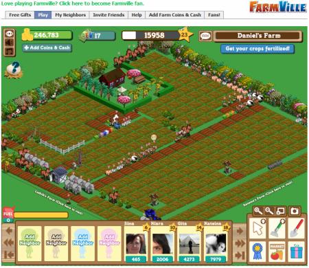 Farmville hra