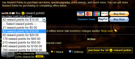 mafiawars hra purchase
