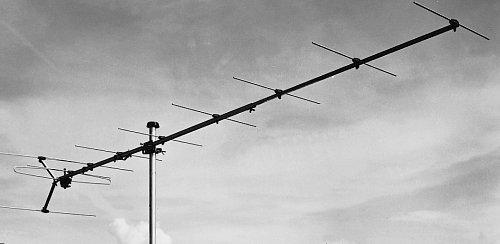 Anténa pro DAB, zisk 12 dB