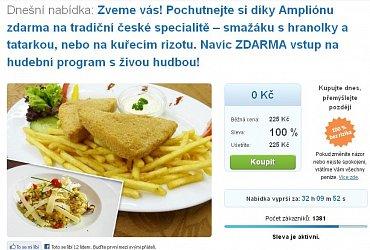 Amplion.cz: Smažený sýr zadarmo