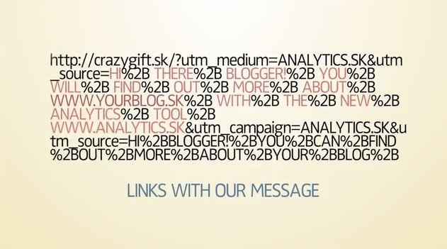 utm kód použitý v kampani