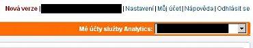 Nová verze (Google Analytics)