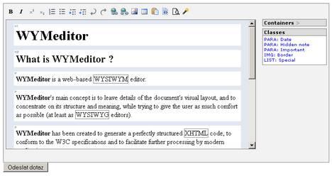 WYMeditor