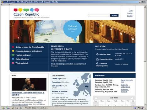 Home page czech.cz