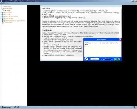 ECDL - Základní pojmy - Další média a PCMCIA karty - Mírně korigovaný