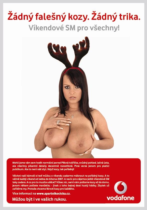 nová verze reklamy od Vodafonu