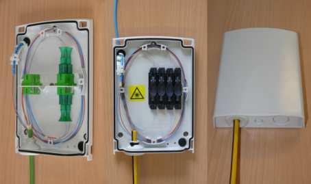 CTB Box multifunkční optický box pro FTTx sítě