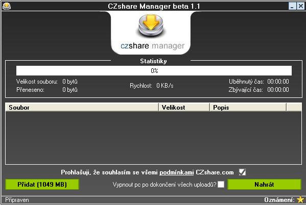 CZshare manager