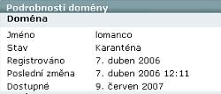 Lomanco whois