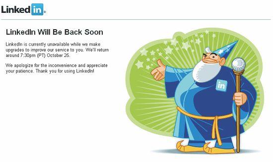 Be Back Soon (LinkedIn)