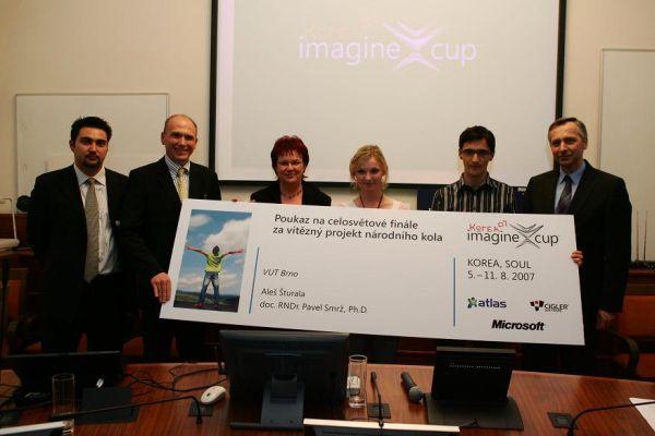 Vítězové českého kola Imagine Cup 2007