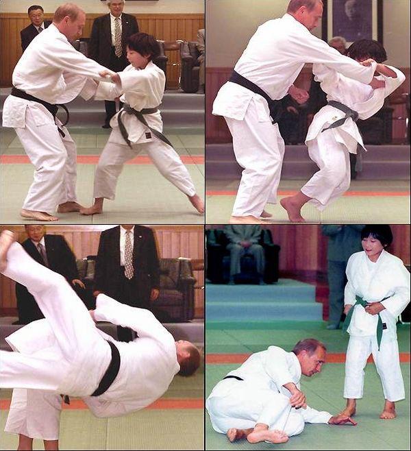 Natsumi Gomi vítězí nad Vladimírem Putinem