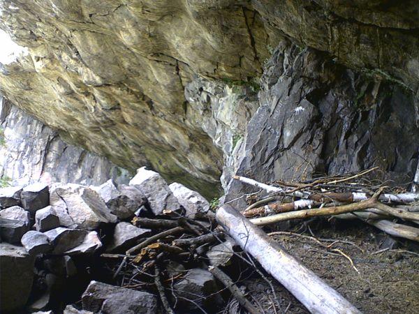 Jeskyně pod Babkou - obydlí pračlověka