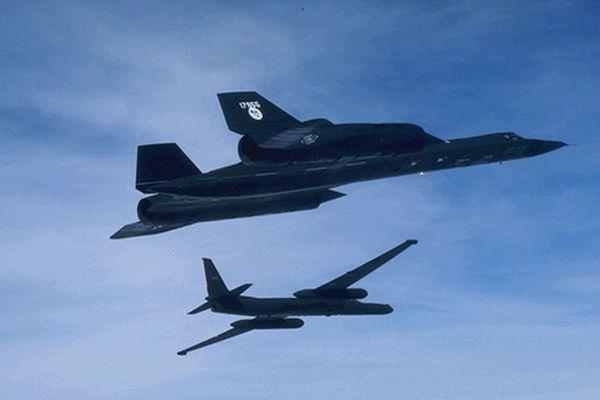 SR-71 Blackbird a U-2