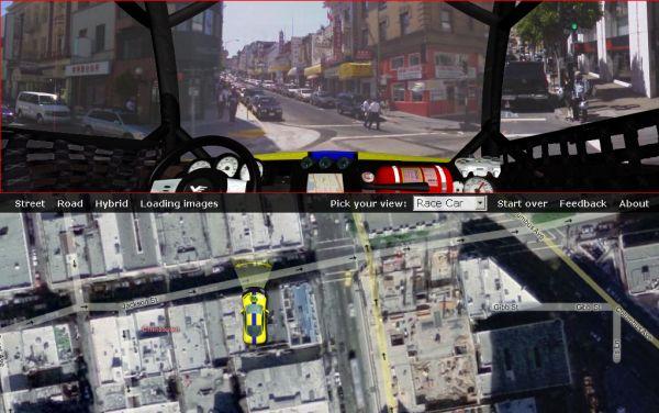 VirtualEarth - StreetSide Edition