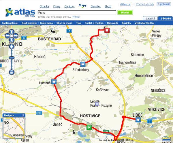 Plánování trasy přes vícero míst