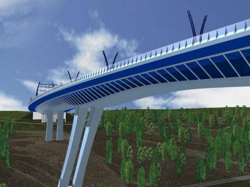 Most za Radotínem
