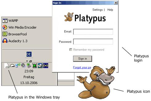 google platypus client