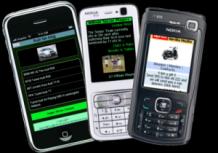 Weby na telefonech